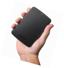 Toshiba Canvio Basics 1TB Portable Hard Drive - Black (HDTB310XK3AA)