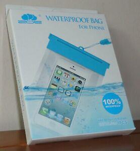 Zoe IP68 Waterproof Phone Bag For Most Phones - iPad Mini - iPhone - Samsung