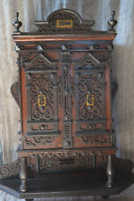 Very beautiful small wood cabinet dated 1920's