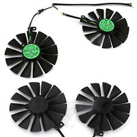 Single/Dual Cooling Cooler Fan Lüfter für Asus GTX 1080Ti T129215SM Grafikkarte