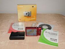 CANON POWERSHOT A4000 IS RED DIGITAL CAMERA 16.0 MEGA PIXELS NEW IN BOX