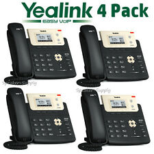 4 Yealink SIP-T21P-E2 Entry Level 2 Line IP Phone w/ HD Voice PoE 10/100 T21P E2
