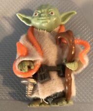 Star Wars Kenner Vintage 1980 Yoda Orange Snake Complete Light Green AFA WORTHY