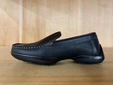 KENNETH COLE REACTION DRIVING DIME LE LOAFER BLACK KIDS YOUTH SIZE 13-3 Y F89233
