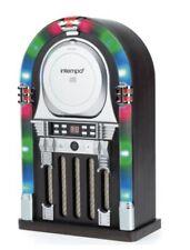 NEW INTEMPO BLUETOOTH JUKEBOX REMOTE CONTROL MULTI LED FLASHING LIGHT CD PLAYER