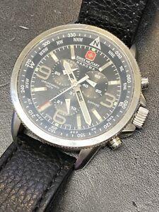 Automatik Herren Uhr Swiss made Ronda Swiss 50300 Neuwertig kaum getragen Crono