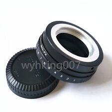 Tilt M42 Lens To Fujifilm Fuji FX X-PRO1 adapter X-E1 X-E2 X-A1 X-T1 X-M1 + CAP