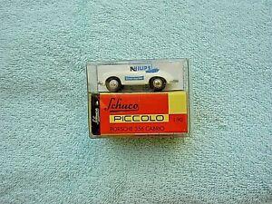 Schuco Piccolo Porsche 356 Cabrio 1:90 mit Werbeaufdruck