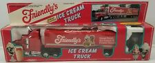 N) Vintage 1993 Friendly's Remote Control Ice Cream Truck Trailer by Manley Toys