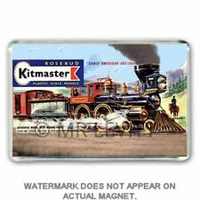 RETRO  60's KITMASTER AMERICAN GENERAL KIT ARTWORK JUMBO Fridge / Locker Magnet
