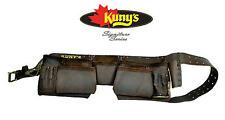 NUEVO Kunys 12 Bolsa / Bolsillo HD ACEITE / Cuero Engrasado CARPINTEROS