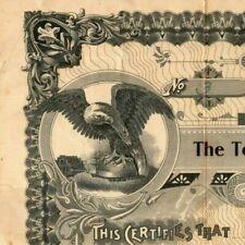 Vintage 1924 Stock Certificate