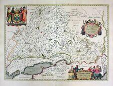 Russia Moscow Russland Australis Blaeu Isaac Maaß Karte map Kupferstich 1640