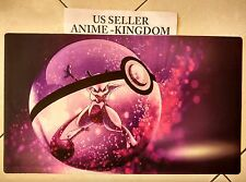 Custom Yugioh Playmat Play Mat Large Mouse Pad Cool Mewtwo #383