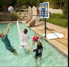 Pool Basketball Hoop Net Poolside Water Sports Party Portable Goal Backboard