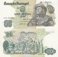Billet banque PORTUGAL 20 ESCUDOS 1971 GARCIA DE ORTA neuf unc new