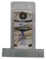 CoFast 18 Ga 1 inch Straight Finish Brad Air Nails fit Most 18 Ga Nailers 2M