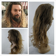 Aquaman Arthur Curry Long Curly Male Leading Role Cosplay Wig