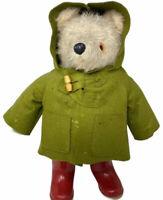 "Vintage Original Gabrielle Designs 19"" Mohair Paddington Bear 1972 England Plush"