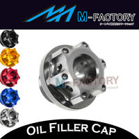 CNC Billet Rudder Oil Filler Cap Plug Fit Yamaha YZF R1  1998-2014 98 99 00 01