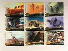 STAR TREK CINEMA 2000 (Skybox) Complete ALIEN WORLDS Chase Card Set (AW01-AW09)