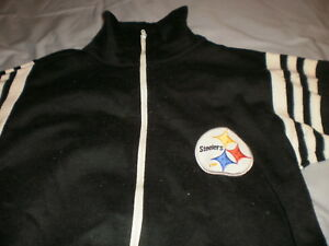 Vintage Pittsburgh Steelers black full zip sweater Youth XL (18-20) sweatshirt
