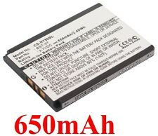 Battery for SONY ERICSSON BST-37 D750 D750i, J210i J220a J220c J220i 650mAh