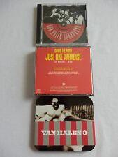 Van Halen/David Lee Roth - Rare DLR Double CD Single + VH 3 Ltd Ed & Promo