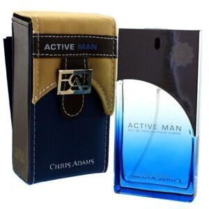 Act!ve Man Mens Perfume Chris Adams 100ml Eau De Parfum Gents Fragrance