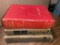 3 VTG William Shakespeare Inc; 1925 Complete Works, 1903 Macbeth Variorum 3rd,.