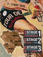 Tour de Yorkshire 2015 large metal sign 400mm x 300mm   (og portrait)