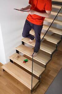 Anti Rutsch Schutz Streifen 3cm + gummiert transparent + rutschfest Treppe Stufe