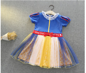 Snow White Toddler Halloween Costume Dress up Dress