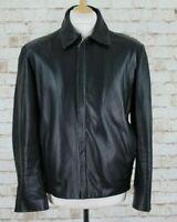 SARDAR Genuine Leather Black Jacket size M