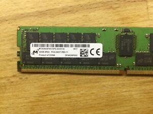 32GB PC4-2400T-R REGISTERED ECC 2RX4 MEMORY RDIMM