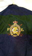 Polo Ralph Lauren Saddle Maker and Harness co.Rugby shirt New York gd condition