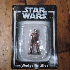 Wedge Antilles Star Wars Deagostini Die Cast Metal Figure On Card Free UK P+P