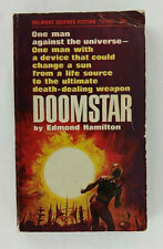 Doomstar by Edmond Hamilton Vintage Science Fiction Paperback 1966