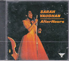 CD 11 TITRES SARAH VAUGHAN AFTER HOURS DE 1997 NEUF SCELLE