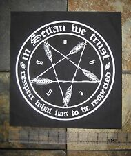 Vegetarian Vegan Punk Back Patch Animal Liberation Front Animal Rights Seitan