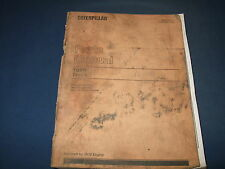 CAT CATERPILLAR 735B TRUCK PARTS BOOK MANUAL S/N 6HK1-UP