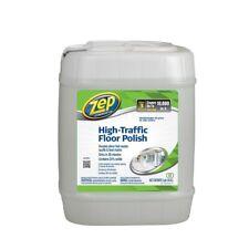 5 Gallon Floor Polish High Traffic Scuff Marks Gloss Shine Wax Waxing Quick Dry