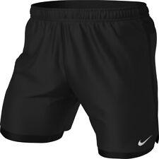 Nike Challenger 2 in 1 Short Herren M Tights Sport Running schwarz kurze Hose