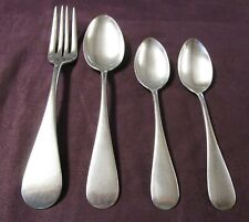 Globe Hotel 4 Pcs Silverplate Flatware Oxford Pattern 1884 $2 Shipping