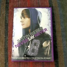 Justin Bieber Never Say Never DVD Movie Music