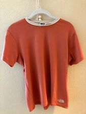 The North Face Women's Shirt size L, Red - polyester, semi-spandex