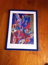 DAVID TIBET CURRENT 93 SIGNED PRINT 41/108 IN FRAME  - FREE SHIPPING