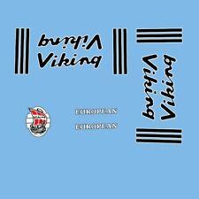 Viking European Bicycle Frame Decals, Transfers  n.57