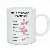 Funny Retirement Tea Coffee Mug Retiring Gift Idea For Men & Women