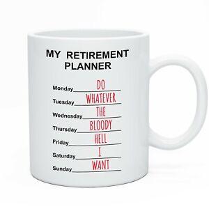 Funny Retirement Tea Coffee Mug Retiring Gift Idea For Men & Women